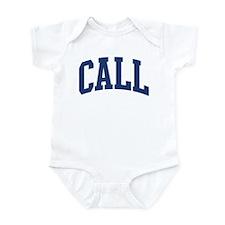 CALL design (blue) Infant Bodysuit