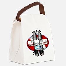 Dry Suit Diver (ST) Canvas Lunch Bag