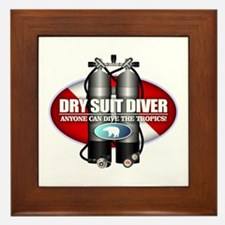 Dry Suit Diver (ST) Framed Tile