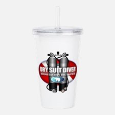 Dry Suit Diver (ST) Acrylic Double-wall Tumbler