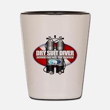Dry Suit Diver (ST) Shot Glass