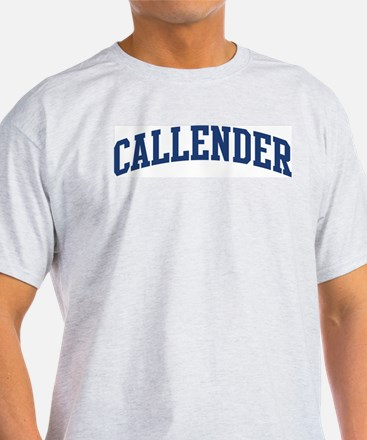 CALLENDER design (blue) T-Shirt