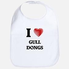 I love Gull Dongs Bib