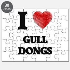 I love Gull Dongs Puzzle
