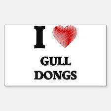 I love Gull Dongs Decal