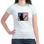 American Guitar Jr. Ringer T-Shirt