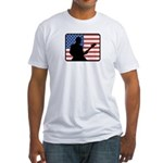 American Guitar Fitted T-Shirt
