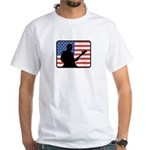 American Guitar White T-Shirt
