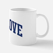 BREEDLOVE design (blue) Mug