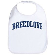 BREEDLOVE design (blue) Bib