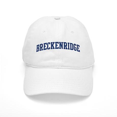 BRECKENRIDGE design (blue) Cap