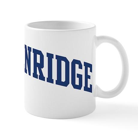 BRECKENRIDGE design (blue) Mug