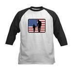 American Fatherhood Kids Baseball Jersey
