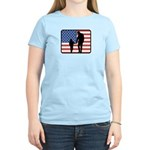 American Fatherhood Women's Light T-Shirt