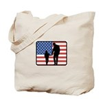 American Fatherhood Tote Bag