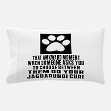 Awkward Jungle-curl Cat Designs Pillow Case