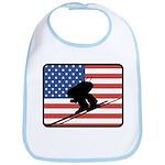 American Downhill Skiing Bib