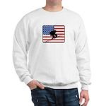 American Downhill Skiing Sweatshirt