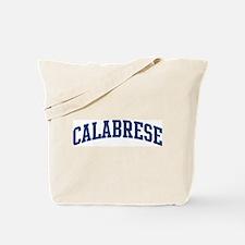 CALABRESE design (blue) Tote Bag