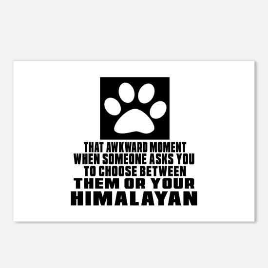 Awkward Himalayan Cat Des Postcards (Package of 8)