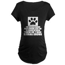 Awkward Havana Brown Cat De T-Shirt