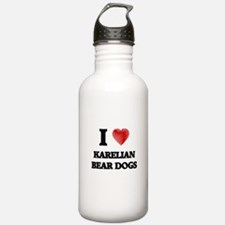 I love Karelian Bear D Water Bottle
