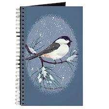 Chickadee Oval Journal