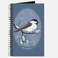 Chickadee Oval Journal