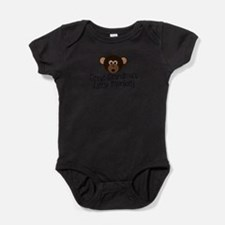 Cute Monkey boy Baby Bodysuit