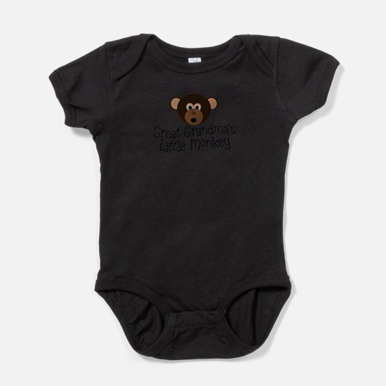 Cute Grandparentlove Baby Bodysuit