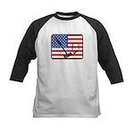 American Crouquet Kids Baseball Jersey