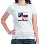 American Crouquet Jr. Ringer T-Shirt