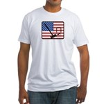 American Crouquet Fitted T-Shirt