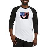 American Computer Geek Baseball Jersey
