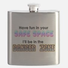 Safe Space vs Danger Zone Flask