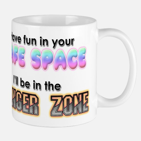 Safe Space vs Danger Zone Mugs