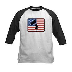 American Color Guard Kids Baseball Jersey