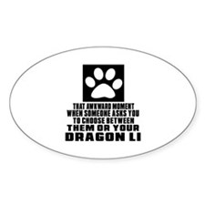 Awkward Dragon Li Cat Designs Decal