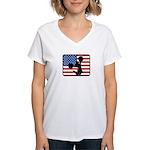 American Cheerleading Women's V-Neck T-Shirt