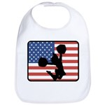 American Cheerleading Bib
