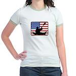 American Canoeing Jr. Ringer T-Shirt