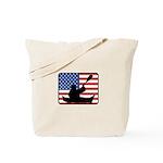 American Canoeing Tote Bag