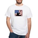 American Canoeing White T-Shirt