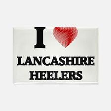 I love Lancashire Heelers Magnets