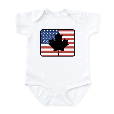 American Canadian Infant Bodysuit
