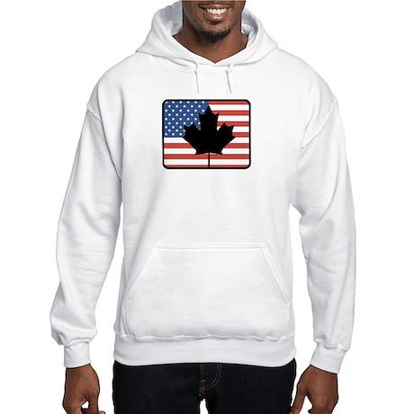 American Canadian Hooded Sweatshirt