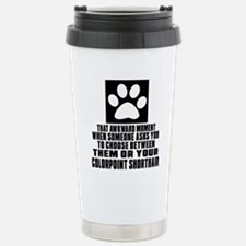 Awkward Colorpoint Shor Travel Mug