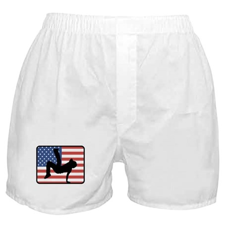 American Breakdancing Boxer Shorts
