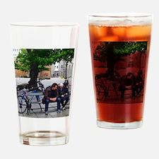 Amused Drinking Glass