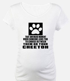 Awkward Cheetoh Cat Designs Shirt
